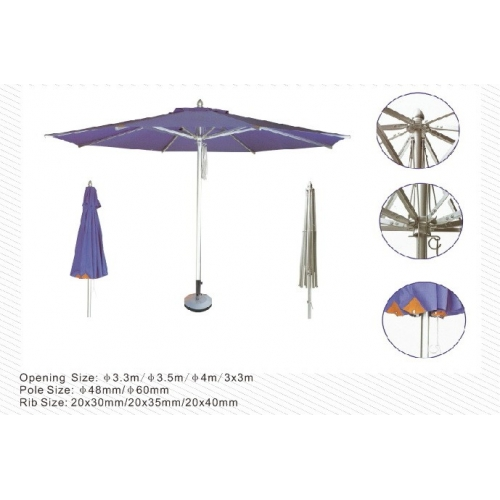 3M Central Aluminum Umbrella